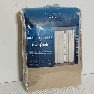 Eclipse draft stopper insulating lined panel